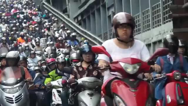 Watch Scooter Traffic During a Morning Rush Hour in Taiwan GIF on Gfycat. Discover more related GIFs on Gfycat