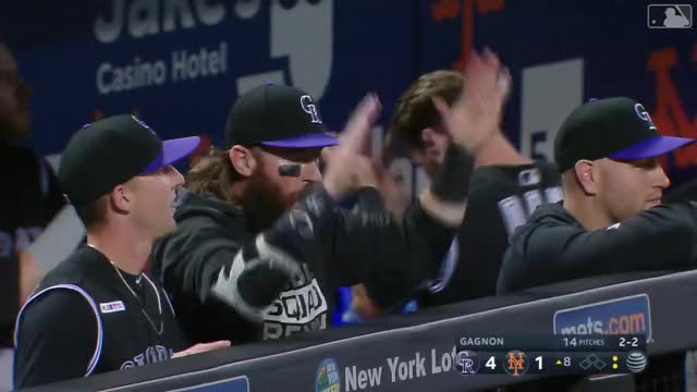 Watch and share Colorado Rockies GIFs and Baseball GIFs by efitz11 on Gfycat