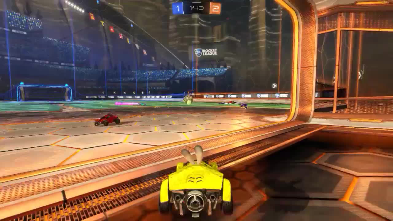 RL - Who should have saved it? Yellow perspective GIFs