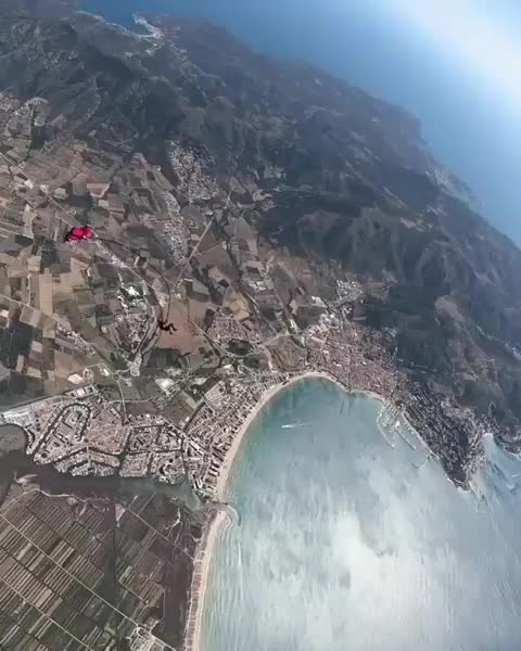 Watch and share Parachute GIFs and Skydiving GIFs on Gfycat