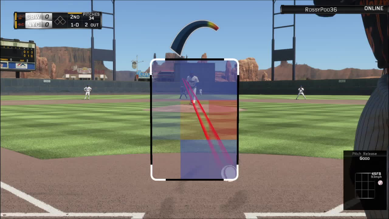 mlbtheshow, Reggie Stocker bunting with two outs GIFs