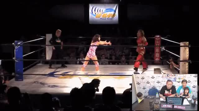 Watch and share Pro Wrestling Wave GIFs and Yumi Ohka GIFs by shinmaru on Gfycat