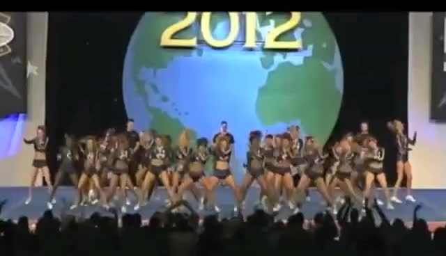 2012, cheer, worlds, ca panthers GIFs