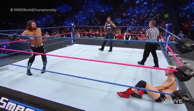 Watch and share James Ellsworth GIFs and Dean Ambrose GIFs on Gfycat