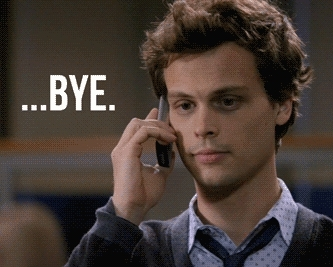 Matthew Gray Gubler, sad phone bye GIFs