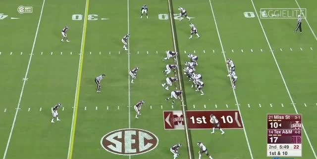 Watch and share 2017 Prospect: Daeshon Hall, DE, Texas A&M GIFs by NFL Guy on Gfycat