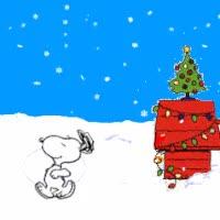 Watch and share Christmas Snoopy Gif Photo: Snoopy Xmas Snow Snoopyxmassnow.gif GIFs on Gfycat