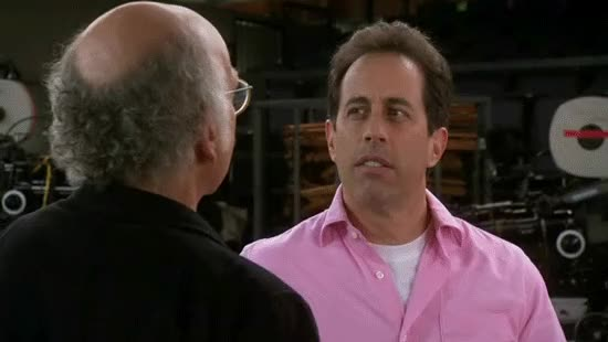 Watch and share Jerry Seinfeld GIFs and Larry David GIFs by Ricky Bobby on Gfycat