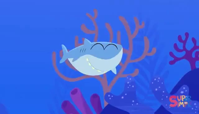 Watch and share Baby Shark | Kids Songs | Super Simple Songs GIFs on Gfycat