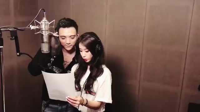 Clip: Park Jiyeon (T-ara) đáng yêu siêu cấp, tận tình hướng dẫn Soobin Hoàng Sơn hát chuẩn tiếng Hàn