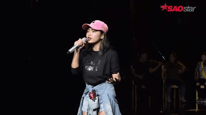 Trước giờ G Chung kết The Voice: Thu Minh, Tóc Tiên ráo riết nhắc nhở trò cưng ảnh 3