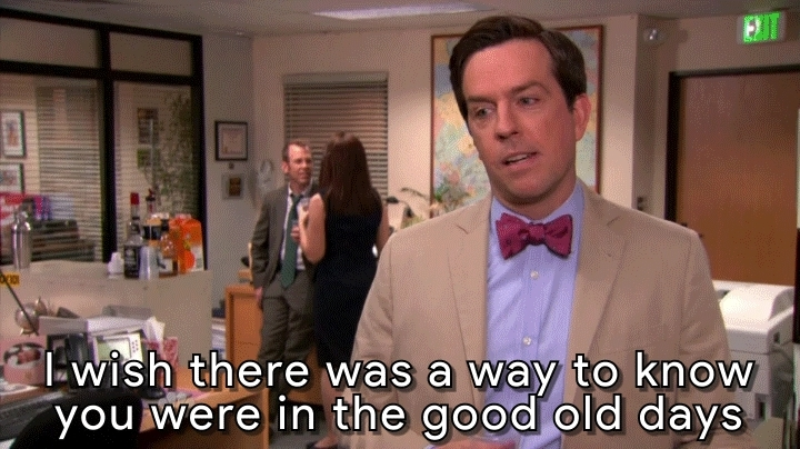 Ed Helms, EdHelms, goodtimes, theoffice, The Good times [The Office Andy Bernard Ed Helms] GIFs