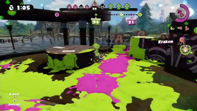 Watch and share Splatoon GIFs by natahanstudios on Gfycat