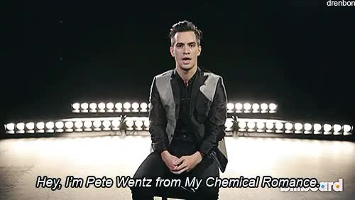 Watch and share My Chemical Romance GIFs and Brendon Urie GIFs on Gfycat