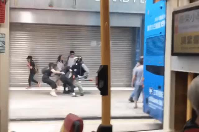 Watch and share Hong Kong GIFs by vozer on Gfycat