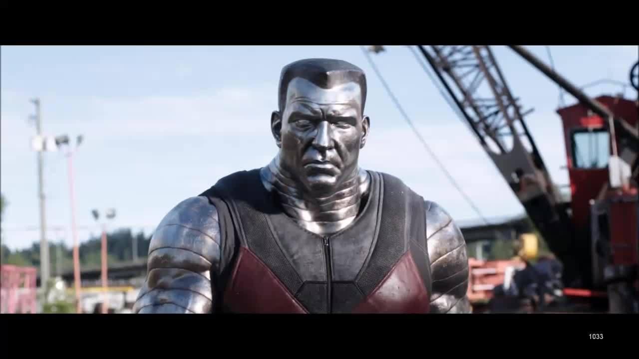 Moviesinthemaking, moviesinthemaking, Deadpool VFX breakdown (reddit) GIFs