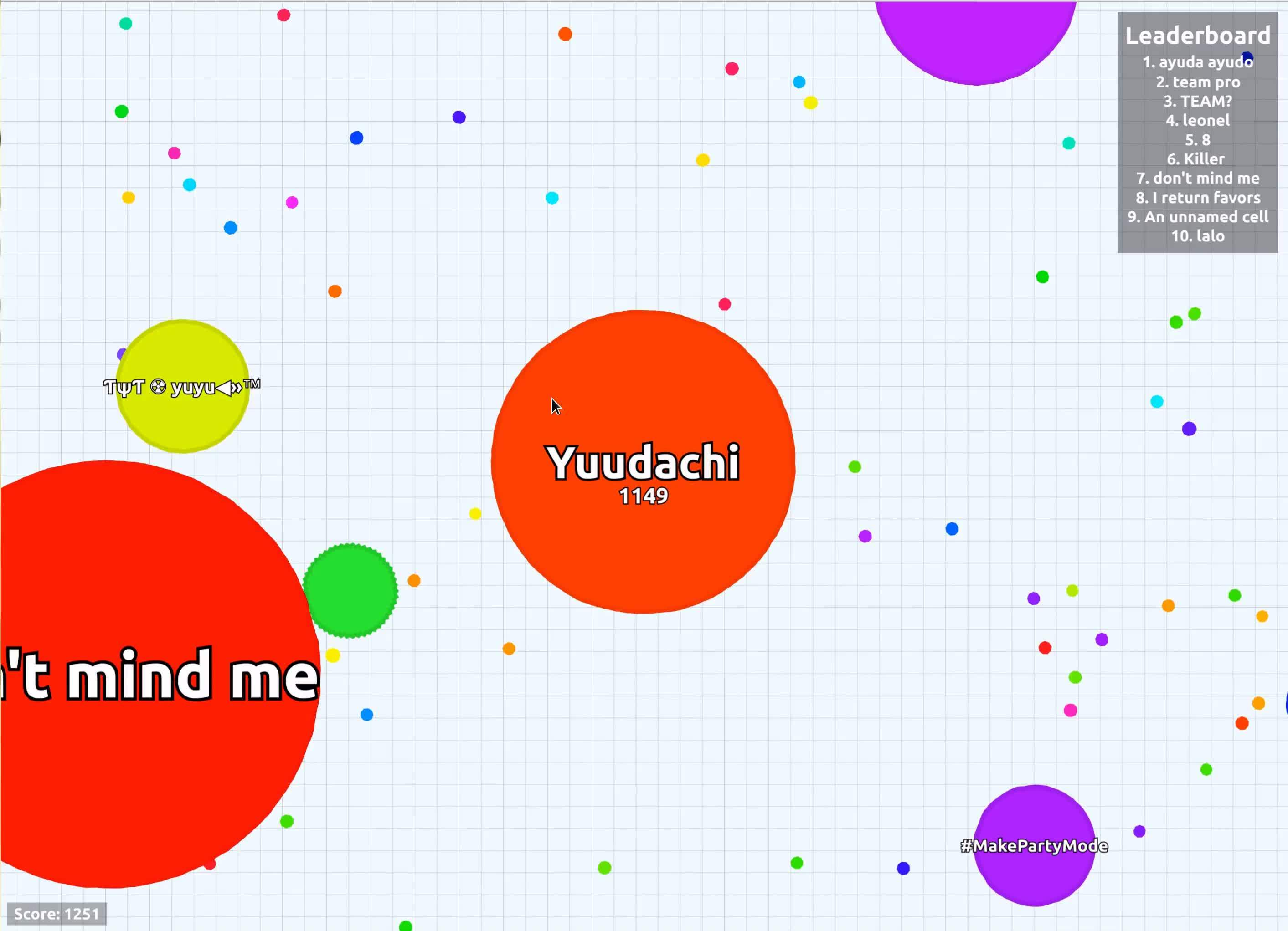 agario, Not the best teammate. GIFs