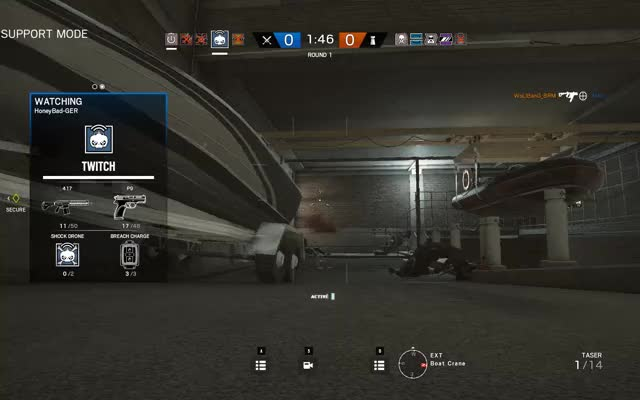 Watch How not to play Twitch GIF by @horst1470 on Gfycat. Discover more Gameplay, Siege GIFs on Gfycat