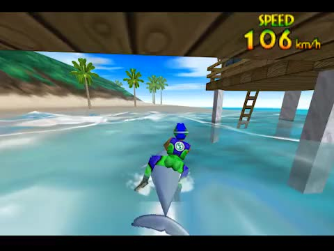 Watch Wave Race 64 - Nintendo 64 GIF by Haikuwoot (@eoner321) on Gfycat. Discover more gaming, n64, retrogameporn GIFs on Gfycat