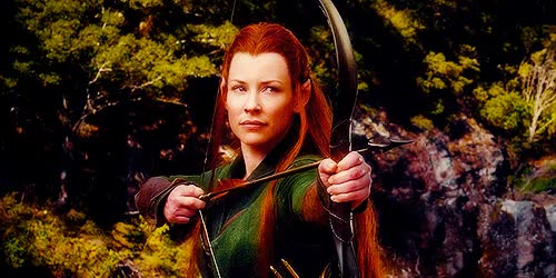 Watch and share Evangeline Lilly GIFs and Hobbitedit GIFs on Gfycat