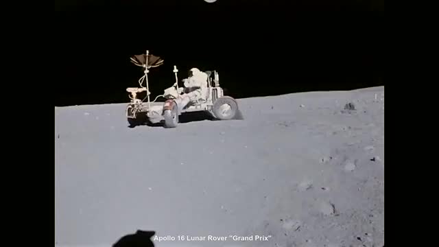 Watch and share Lunar Rover GIFs and Apollo 16 GIFs by kcgg123 on Gfycat