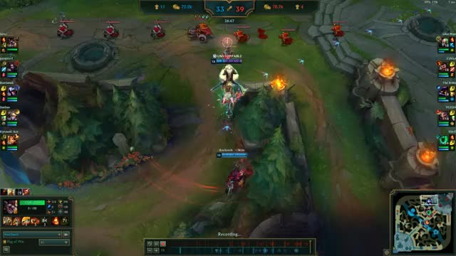 Watch and share Kled Ult + Zzrot GIFs by kyaki44 on Gfycat