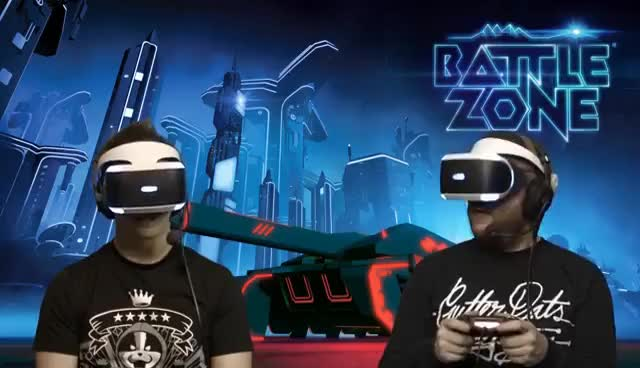 Watch and share Battlezone PSVR Gameplay - We Play Online Co-op In VR! GIFs on Gfycat