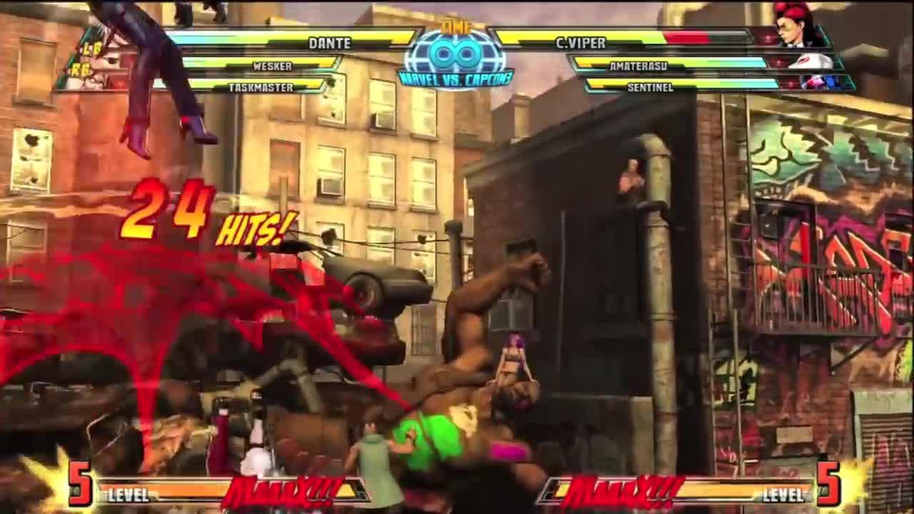 Capcom, Dante, Dante's, Marvel, many, move, moves, three, versus, vs, MVC3 Agni and Rudra Aerial GIFs