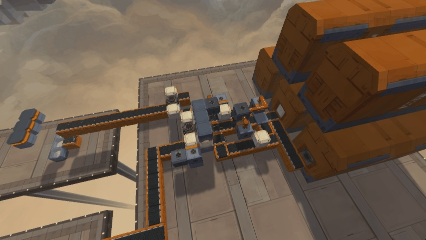 infinifactory, puzzle, solution, Early Infinifactory Puzzle GIFs