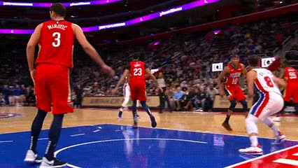 Watch and share Andre Drummond — Detroit Pistons GIFs by Off-Hand on Gfycat