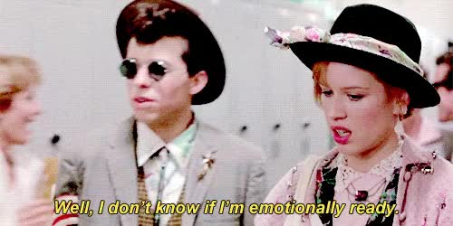 Watch and share Molly Ringwald GIFs and Dale GIFs on Gfycat