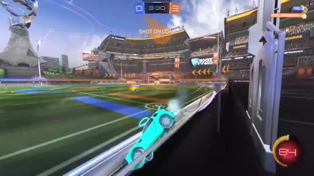 Watch and share Rocket League GIFs by Mack Eddy on Gfycat