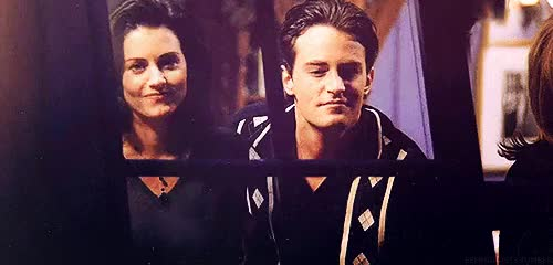 Watch and share Monica And Chandler GIFs and L4l Follow4follow GIFs on Gfycat