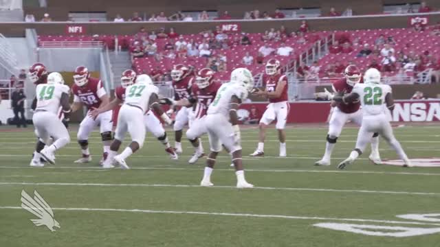Watch and share Mean Green GIFs and Razorbacks GIFs by fussbudget on Gfycat