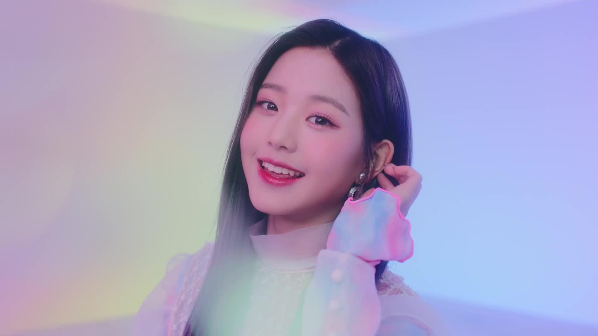 IZ*ONE, Jang Wonyoung, Where your heart IZ?, Wonyo~ GIFs