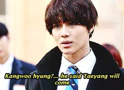 Watch disappointed fanboy Kim Taem  GIF on Gfycat. Discover more gif1, shinee, taemin, the heirs parody, you little shit haha GIFs on Gfycat