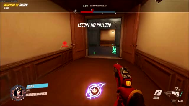 Watch and share Overwatch GIFs by Raider on Gfycat