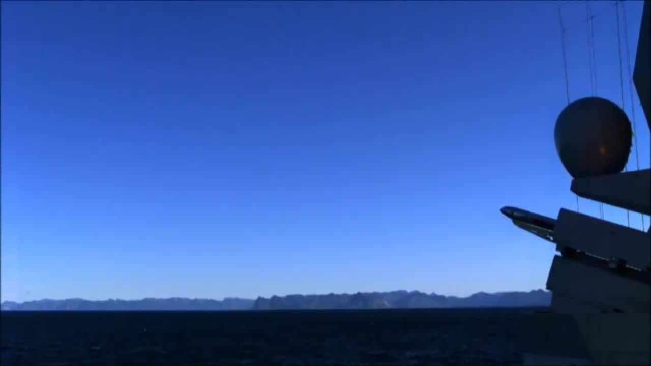 missilegfys, NSM Launch from Skjold class corvette & Nansen class Frigate (reddit) GIFs