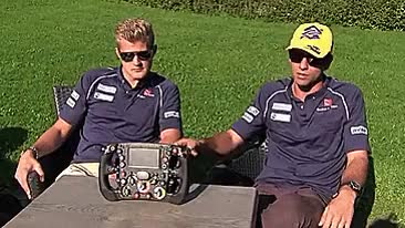 Watch and share Marcus Ericsson GIFs and Steering Wheel GIFs on Gfycat
