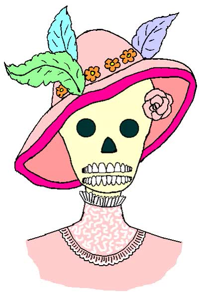 Watch and share La Catrina Calavera Hablando Gifs Animados GIFs on Gfycat
