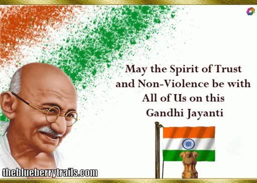 Watch and share Gandhi Jayanti BBTrails GIFs on Gfycat