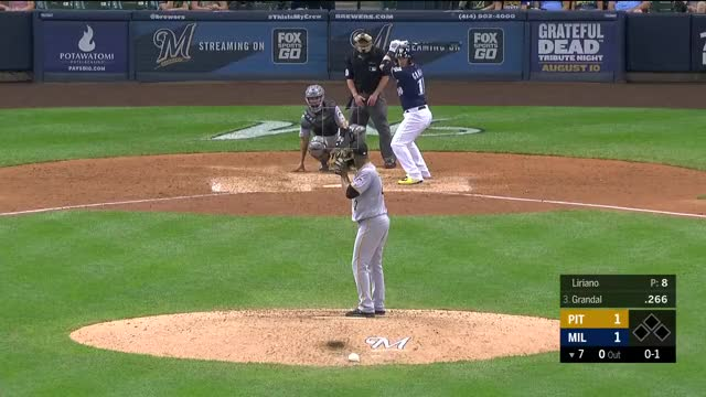 Watch and share Milwaukee Brewers GIFs and Baseball GIFs by r_amore on Gfycat