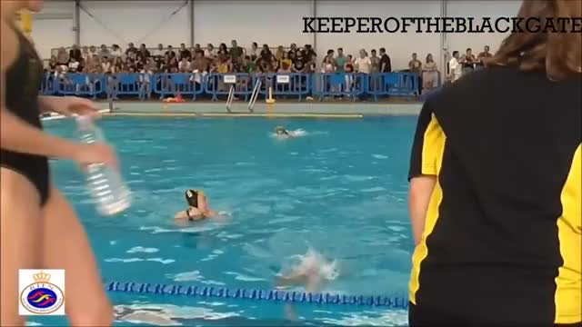 Watch and share Waterpolo  Girls - C M L  (Madrid) Vs C E M  (Barcelona) GIFs on Gfycat