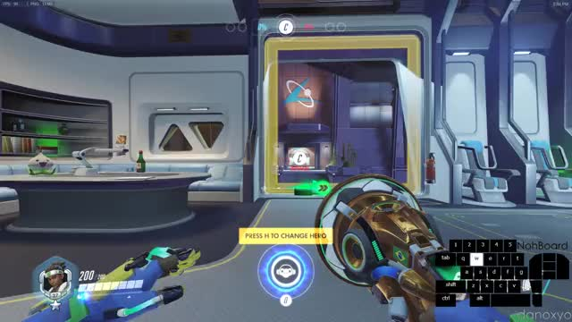 Watch and share [Lijiang Tower: Control Center] Spawn To Point (4.3)  Lucio Rollout GIFs by danoxyo on Gfycat