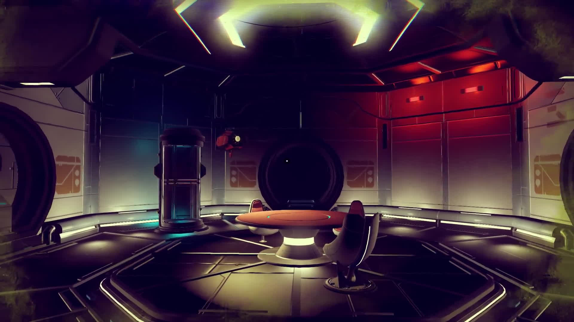 nomansskythegame, sentinel, shelter, The Indoor Life of a Sentinel GIFs
