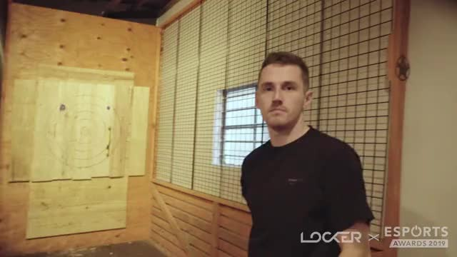 Watch and share Tom Axe Throwing Celebration GIFs by EsportsLocker on Gfycat