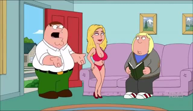 Watch and share Family Guy - Kate Upton GIFs on Gfycat