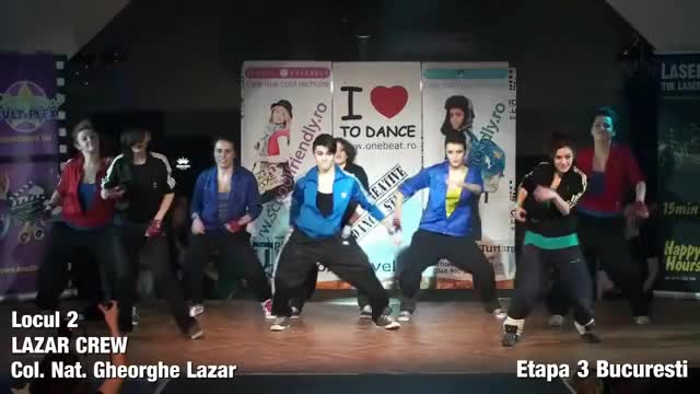 Cupa Liceelor la Street Dance '11 - Lazar Crew, Etapa 3 Bucuresti (reddit)