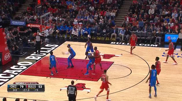 Watch and share Carmelo Anthony Emphatic Rebound GIFs by ajohnnapier on Gfycat