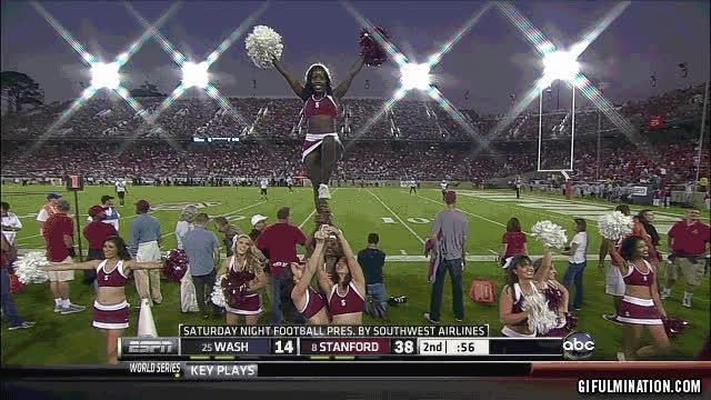 amusing cheerleader gifs GIFs